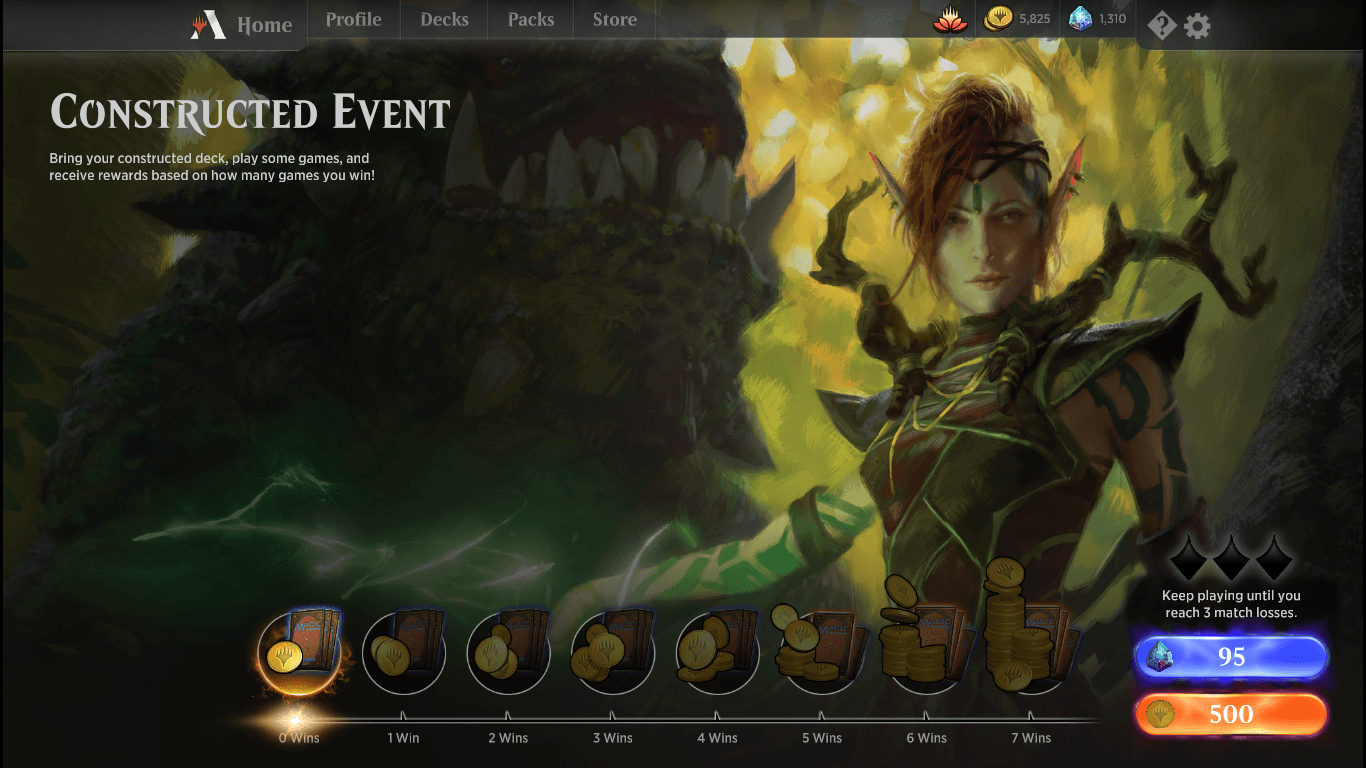 Contructed Event • MTG Arena Zone