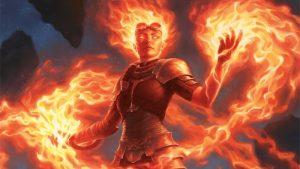 Chandra, Awakened Inferno Art by Chris Rahn