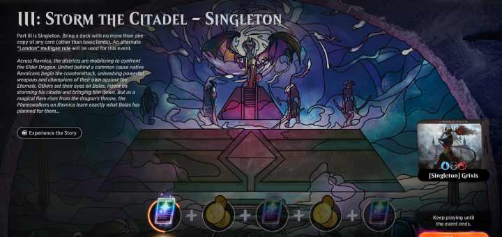 III: Storm the Citadel - Singleton