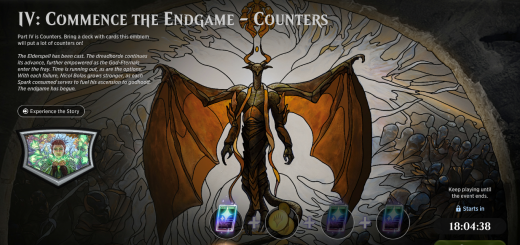 IV: Commence the Endgame - Counters