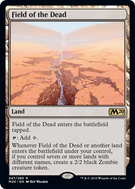 Mtg Banned List 2020.Field Of The Dead Banned In Standard Mtg Arena Zone