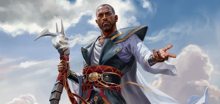 Teferi, Hero of Dominaria (Dominaria) Art by Chris Rallis