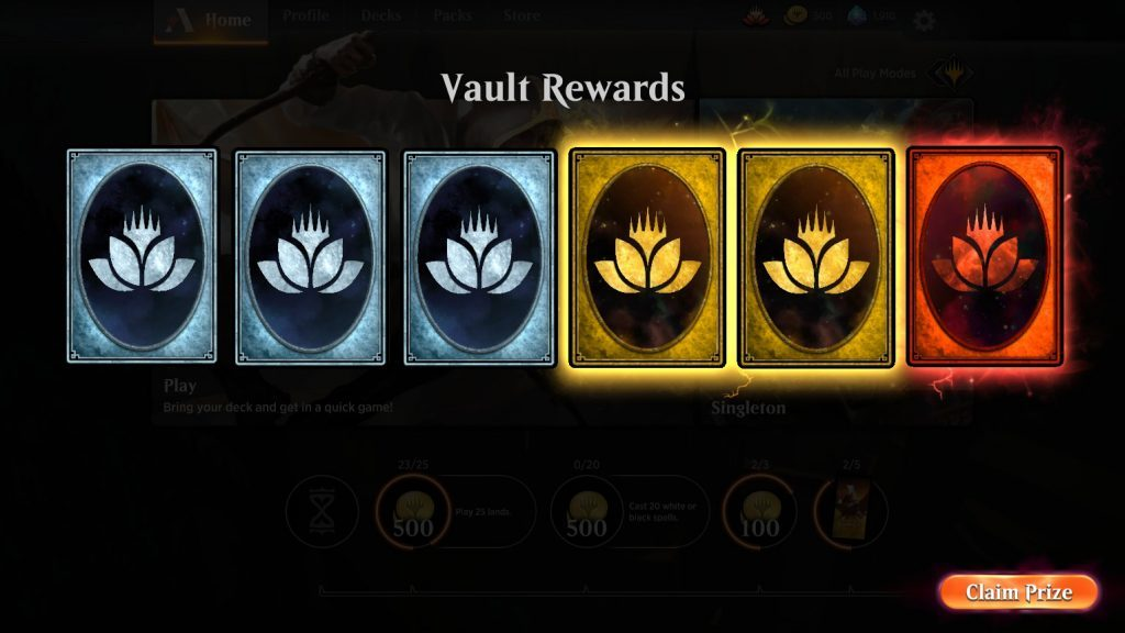 Vault Rewards