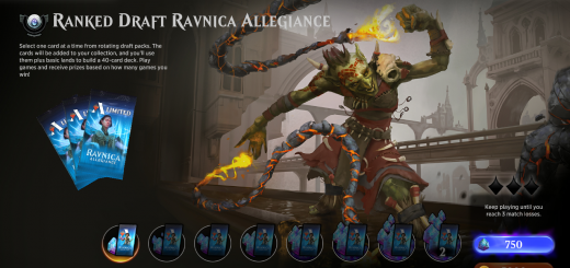 Ranked Draft Ravnica Allegiance
