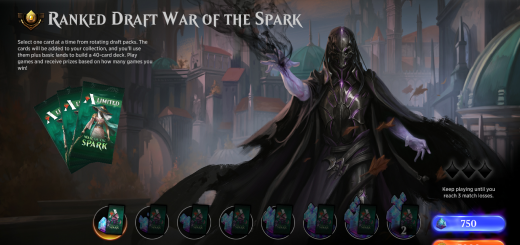 Ranked Draft War of the Spark
