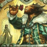 Lovestruck-Beast-Throne-of-Eldraine-MtG-Art