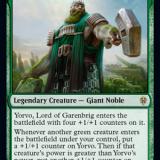 Yorvo, Lord of Garenbrig Brawl Deck