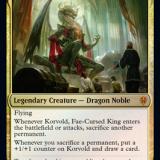 Korvold, Fae-Cursed King Brawl Deck