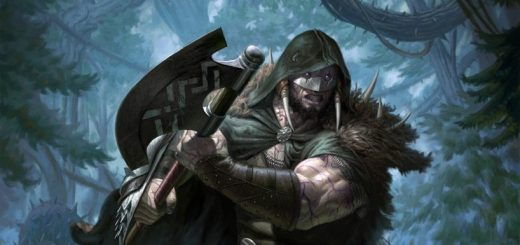 garruk-cursed-huntsman-art-eric-deschamps