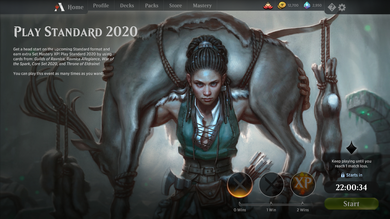 Games To Play 2020.Play Standard 2020 Mtg Arena Event Mtg Arena Zone