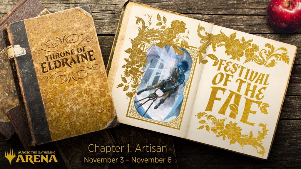 Artisan Event Nov 3 - Nov 6