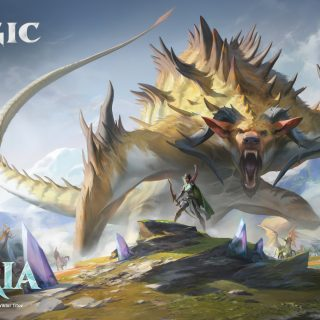 Ikoria: Lair of Behemoths Key Art