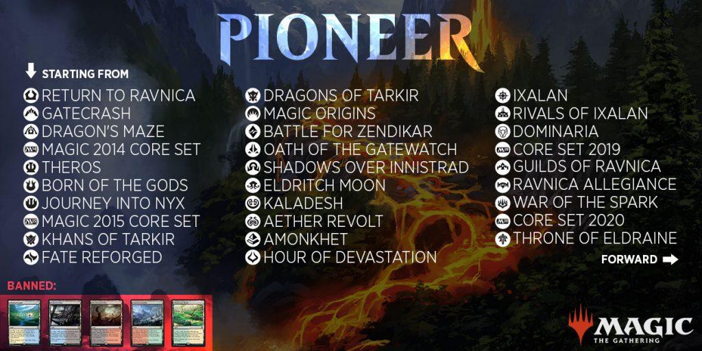 Pioneer Set List