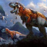 Historic Gruul Dinosaurs by madoka_hajime - #291 Mythic - Throne of Eldraine Season 2