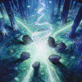 Historic Simic Ramp by JANYAN - #72 Mythic - Throne of Eldraine Season 3