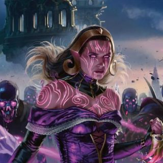 Liliana-Dreadhorde-General-War-of-the-Spark-Arts
