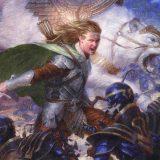 Abzan Wolves by Delmo - #190 Mythic - Throne of Eldraine Season 3