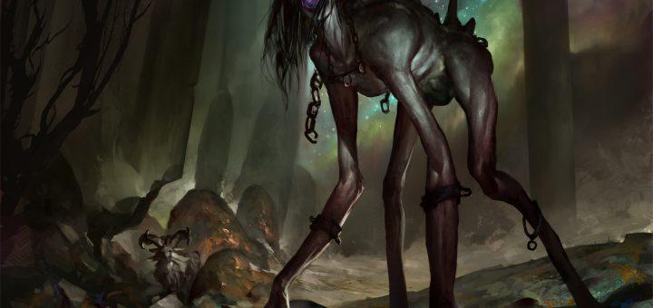 Woe-Strider-Theros-Beyond-Death-Art
