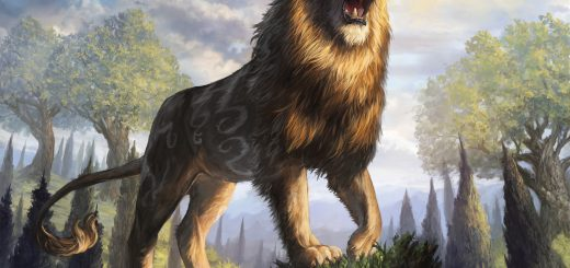 bronzehide-lion-art