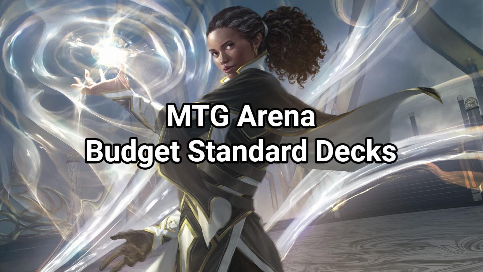 MTG Arena Budget Standard Decks for Beginners   September 20 ...