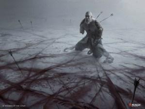 Blood on the Snow Art by Martina Fackova
